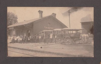 Grand Truck Railway Station / Canadian National Railway Station, Colborne