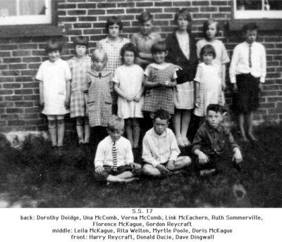 S.S.17, Mount Pleasant School