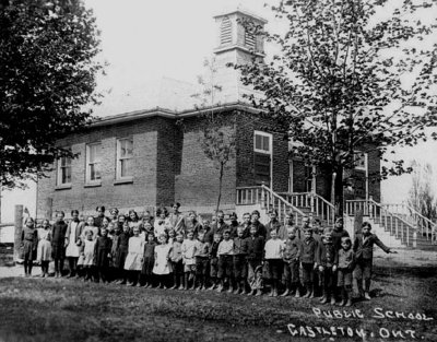 Photograph of S.S. 22, Castleton School, Cramahe Township