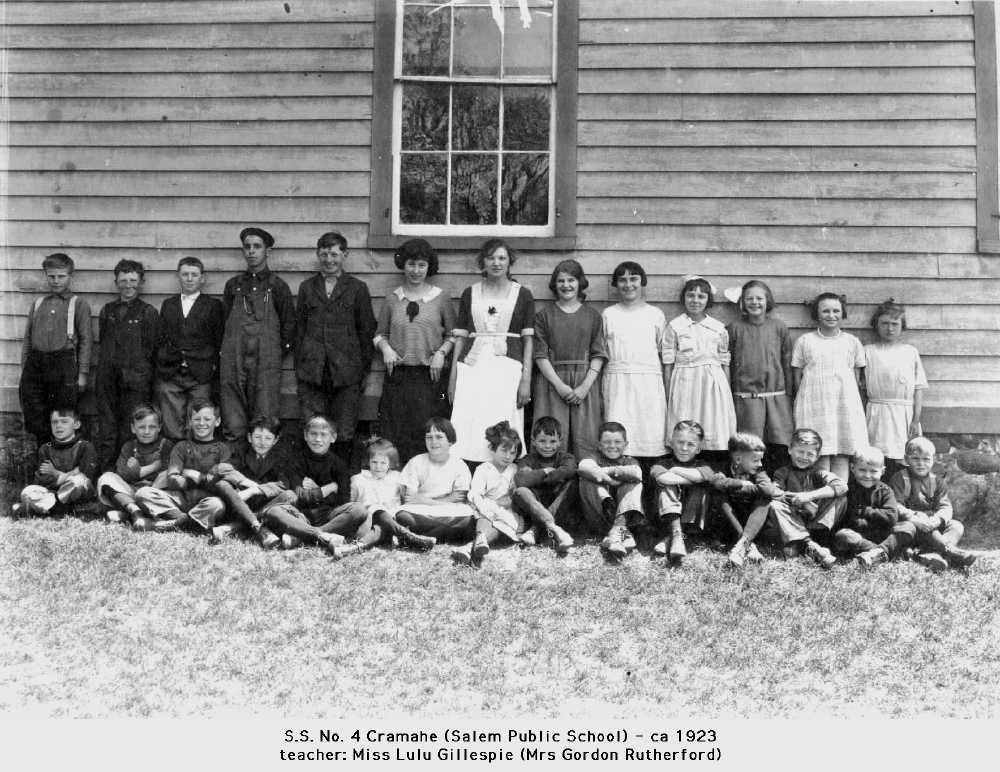 Salem Public School, S.S. 4, ca.1923
