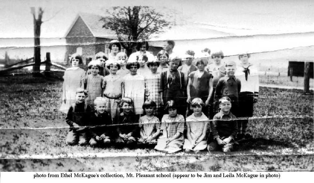 Mount Pleasant School, ca.1923
