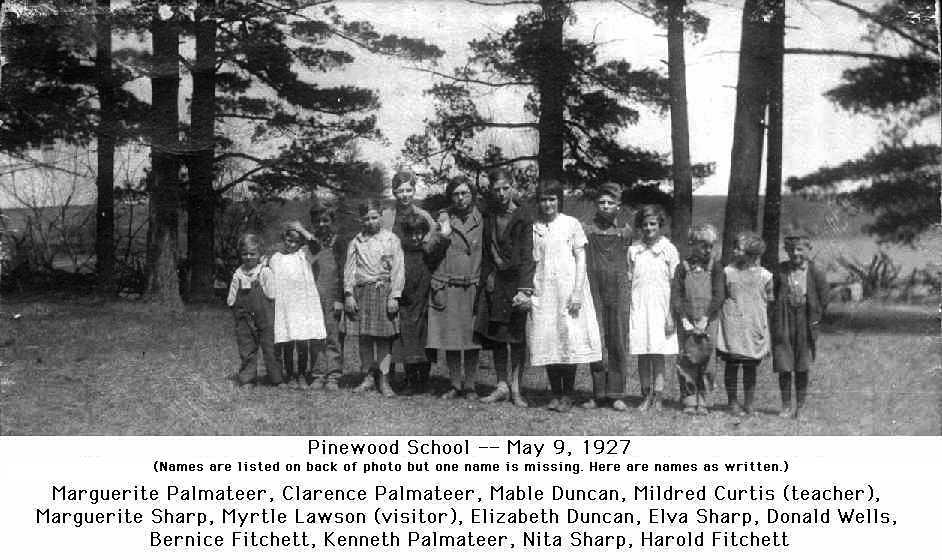 Pinewood School, 9 May 1927