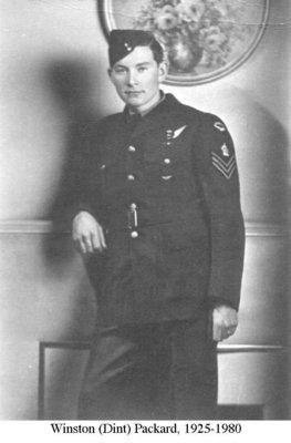 Photograph of Winston (Dint) Packard, 1925-1980, Cramahe Township