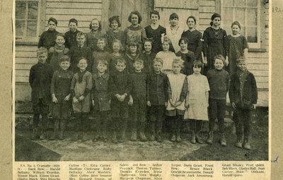 Salem Public School, S.S. 4, 1921/22