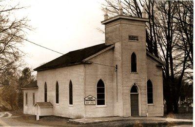 Photograph of Salem United Church, Cramahe Township
