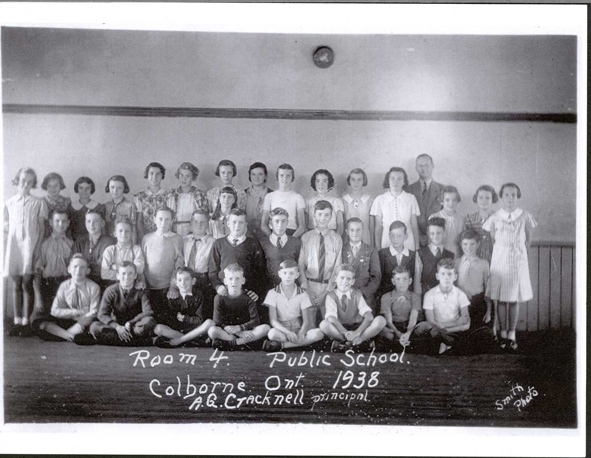 Colborne Public School, Room 4, 1938