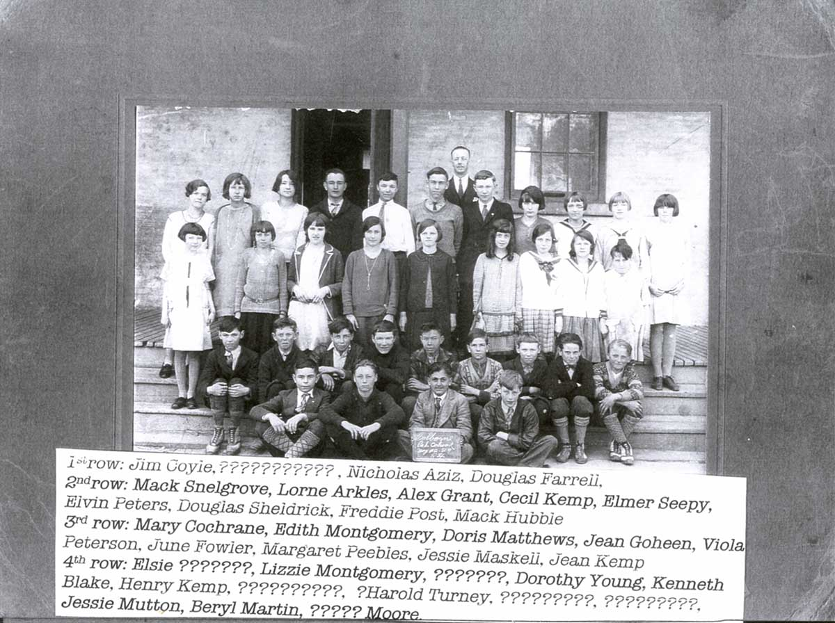 Colborne School,1929?