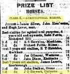 "J.O. Stewart, Upper Canadian Provincial Exhibition, Hamilton. ""Provincial Exhibition"" The Daily Globe, 24 September 1868 - photocopy newspaper clipping"