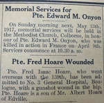 May 1917 - World War I in the Colborne Express
