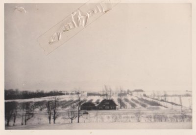 Canadian Pacific Railway Station, Hubble Farm, Reid Farm and Webb Orchard, Ogden's Point, 1943