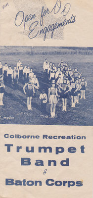 Colborne Recreation Trumpet Band & Baton Corps brochure
