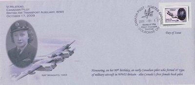 Vi Milstead Warren postage stamp