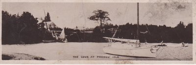 Book postcard of The Cove at Presqu'isle