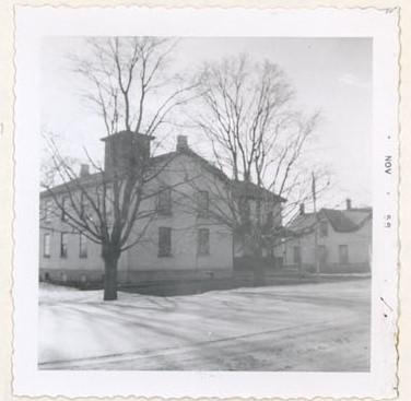 Former Continuation School, Colborne, Colborne Women's Institute Scrapbook