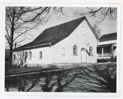Photograph of Gospel Oasis Church, Colborne, Colborne Women's Institute Scrapbook