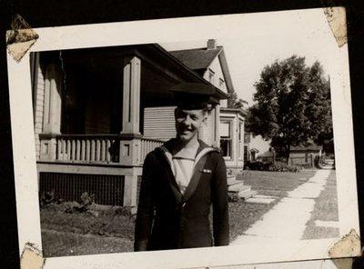 Photograph of Garnet L. Haynes, Colborne Women's Institute Scrapbook
