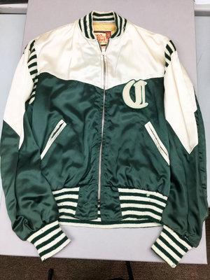 Clarence McKague's Castleton baseball team jacket