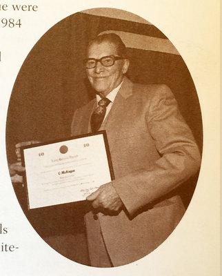 Photograph of Clarence McKague