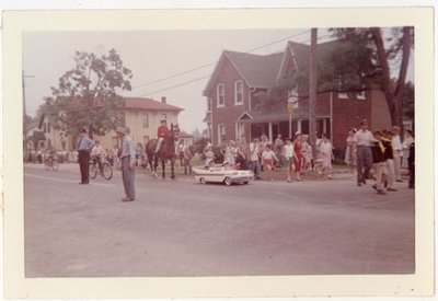 Photograph of 1959 Colborne Centennial Parade, Colborne Women's Institute Scrapbook