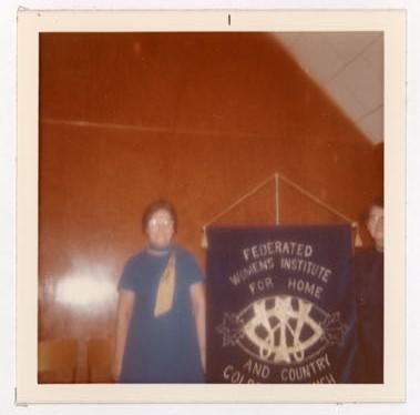 Photograph of 40th W.I. Anniversary, Colborne Women's Institute Scrapbook