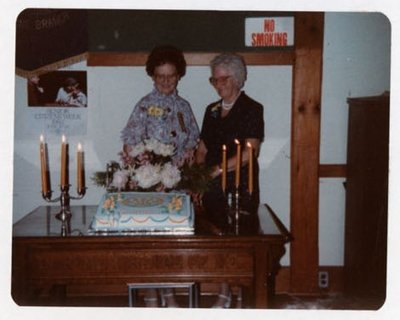 Photograph of 50th Anniversary, Colborne Women's Institute, Colborne Women's Institute Scrapbook