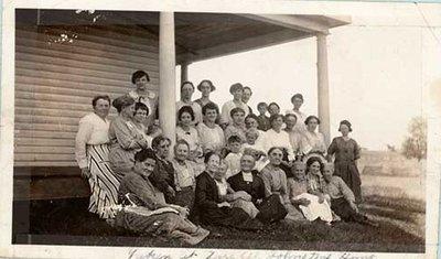 Photograph of Castleton Women's Institute members, 1922