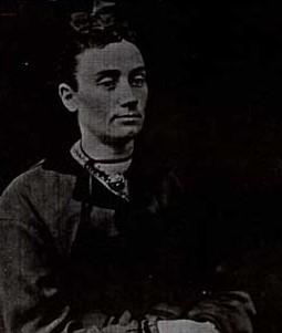 Photograph of Sara Brad (1844-1935) and Black family history, Castleton Women's Institute scrapbook