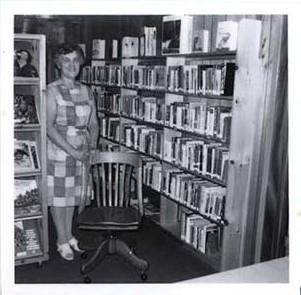 Photograph of Myrtle Ducie, President, Castleton Women's Institute at Castleton Public Library