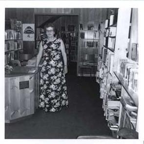 Photograph of Reta Bedford, Castleton Public Library