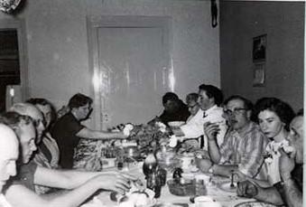 Photograph of Mount Pleasant Farm Forum supper
