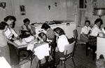 Mrytle Ducie and Majorie Hillborn, 4-H Homemaker Leaders, Castleton and Morganston, Cramahe Township
