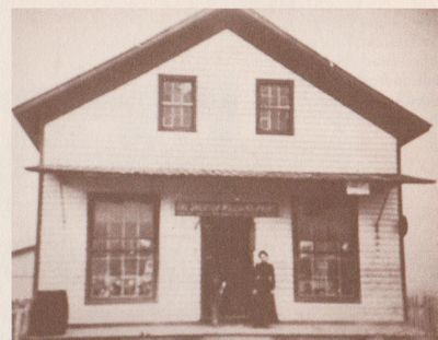 Photograph of Front Street store, Lockport