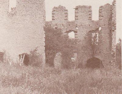 Photograph of Christie Mill ruin, Colborne