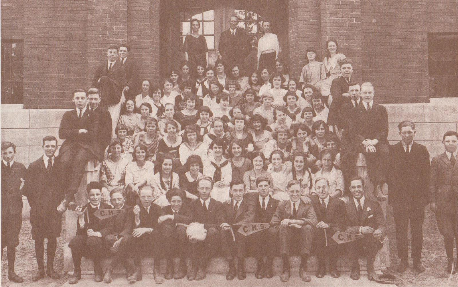Photograph of Colborne High School, 1923