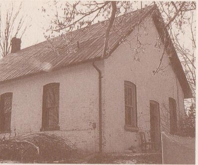 Photograph of former Mount Pleasant School, Cramahe Township
