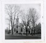 Photograph of Trinity Church, Colborne, Colborne Women's Institute Scrapbook