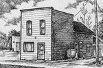 Sketch of Castleton store