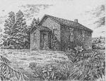 Sketch of the former Red Cloud School, Cramahe Township
