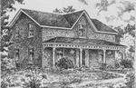 Sketch of Doyle House, Castleton