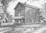 Sketch of the former Purdy Milling Company, Castleton