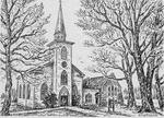 Sketch of Trinity Church, Colborne