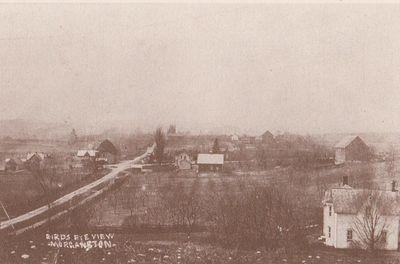 Postcard of Morganston, Cramahe Township, ca.1900