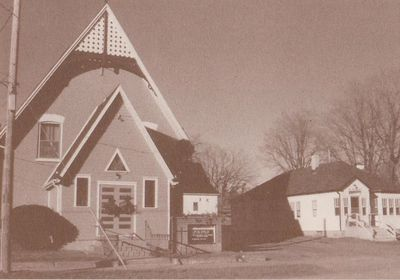 Photograph of Prospect Missionary Church, Colborne, Cramahe Township