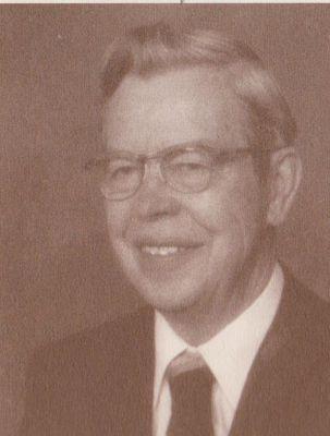 Portrait photograph of Dr. Frank Pember, Cramahe Township