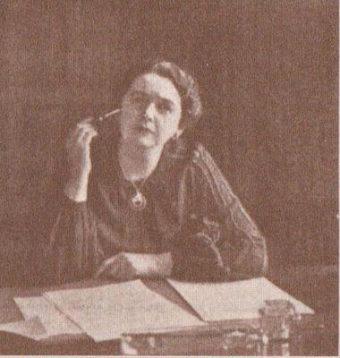 Portrait photograph of Senator Iva Fallis by Yousuf Karsh, Cramahe Township, 1938