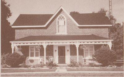 Photograph of former Senator Iva Wallis home, Castleton, Cramahe Township