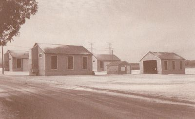 Photograph of tobacco kilns, Mount Pleasant Road, Cramahe Township