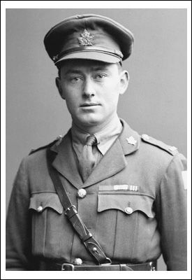 Official portrait photograph of Charles Rutherford, VC, MC, MM, Cramahe Township