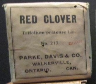 Red Clover, Griffis Drug Store, Colborne, Cramahe Township