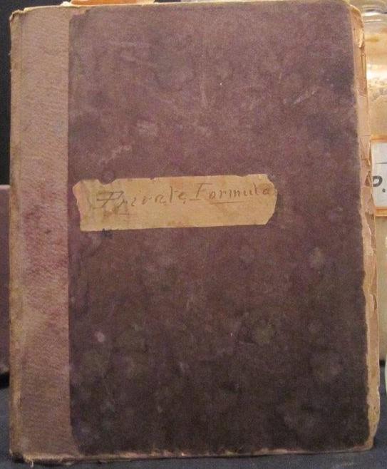 Formulary, Griffis Drug Store, Colborne, Cramahe Township